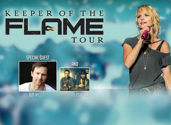 Miranda Lambert, Kip Moore & Brothers Osborne at Farm Bureau Live