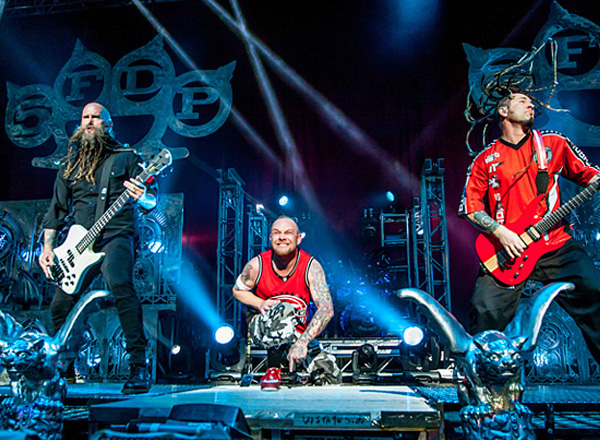 FM99 Lunatic Luau: Five Finger Death Punch, Shinedown, Bush & P.O.D. at Farm Bureau Live