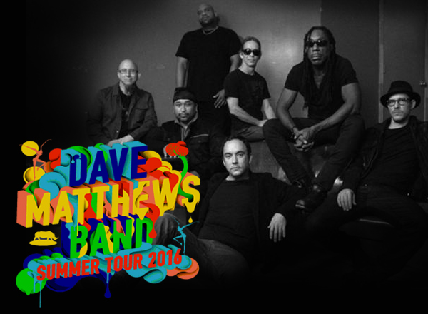 Dave Matthews Band Summer Tour 2016 at Veterans United Home Loans Amphitheater
