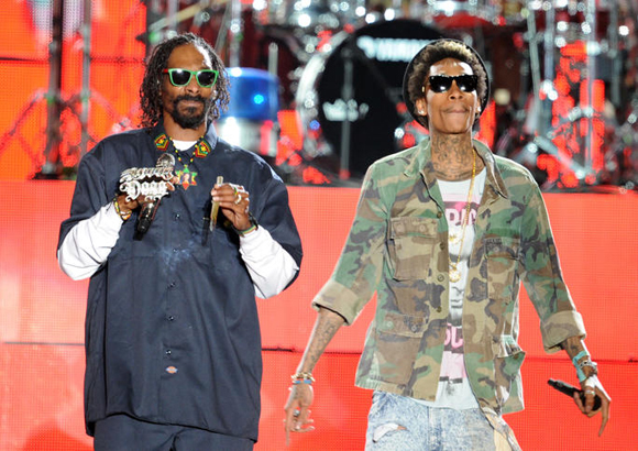 Snoop Dogg, Wiz Khalifa, Kevin Gates & Jhene Aiko at Veterans United Home Loans Amphitheater