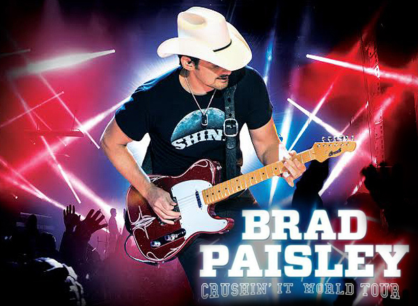 Brad Paisley, Tyler Farr & Maddie and Tae at Veterans United Home Loans Amphitheater