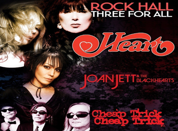 Heart, Joan Jett and The Blackhearts & Cheap Trick at Veterans United Home Loans Amphitheater