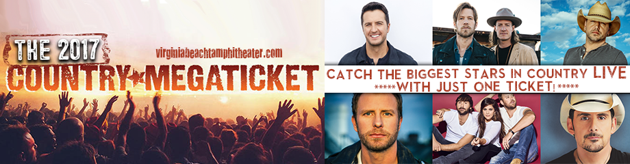 2017 Country Megaticket Tickets (Includes All Performances) at Veterans United Home Loans Amphitheater