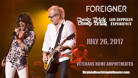 Foreigner, Cheap Trick & Jason Bonham's Led Zeppelin Experience at Veterans United Home Loans Amphitheater