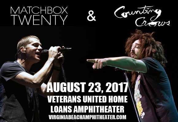 Counting Crows & Matchbox Twenty at Veterans United Home Loans Amphitheater