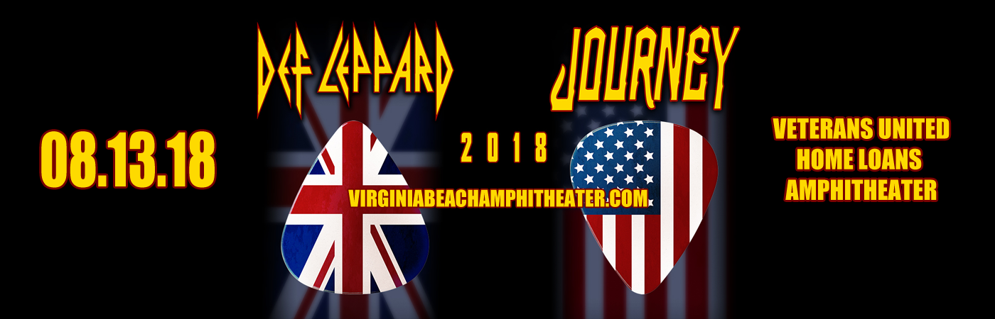 Journey & Def Leppard at Veterans United Home Loans Amphitheater