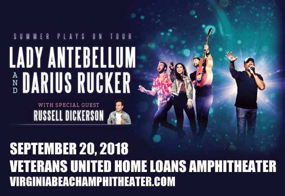 Lady Antebellum, Darius Rucker & Russell Dickerson at Veterans United Home Loans Amphitheater