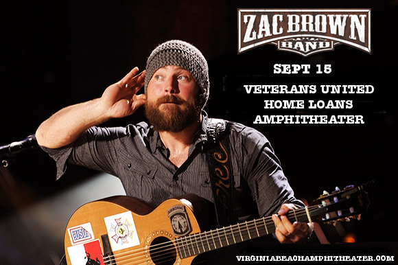 Zac Brown Band at Veterans United Home Loans Amphitheater
