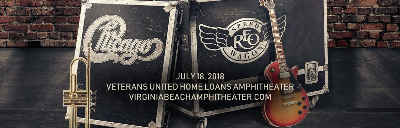 Chicago & REO Speedwagon at Veterans United Home Loans Amphitheater