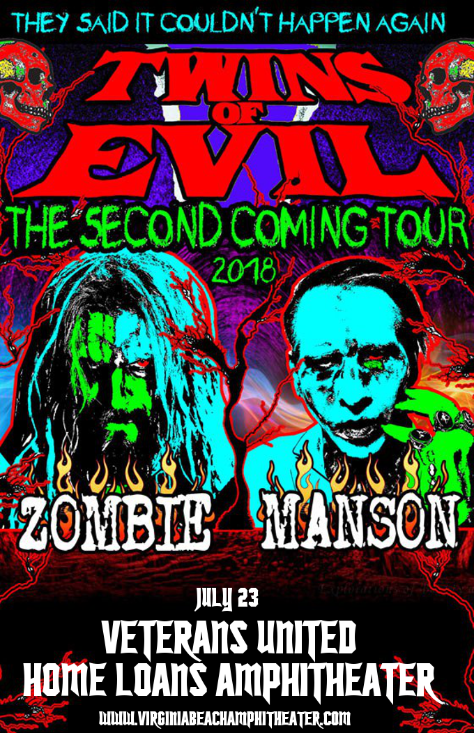 Rob Zombie & Marilyn Manson at Veterans United Home Loans Amphitheater