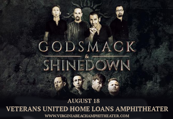 Shinedown & Godsmack at Veterans United Home Loans Amphitheater