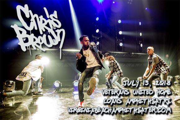 Chris Brown at Veterans United Home Loans Amphitheater