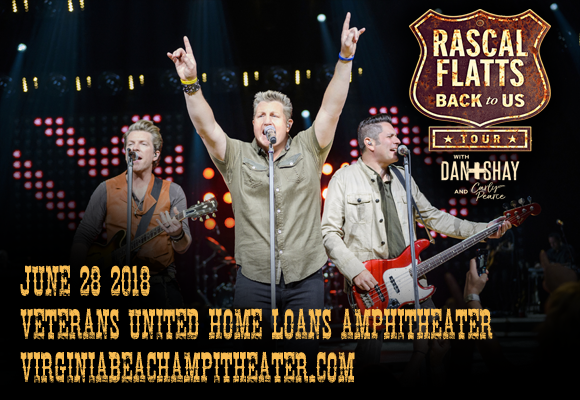 Rascal Flatts, Dan and Shay & Carly Pearce at Veterans United Home Loans Amphitheater