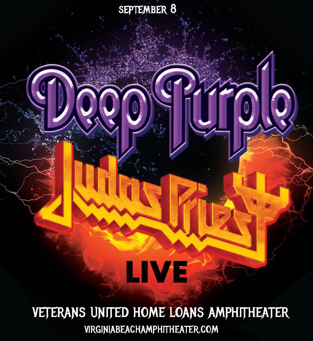 Deep Purple & Judas Priest at Veterans United Home Loans Amphitheater