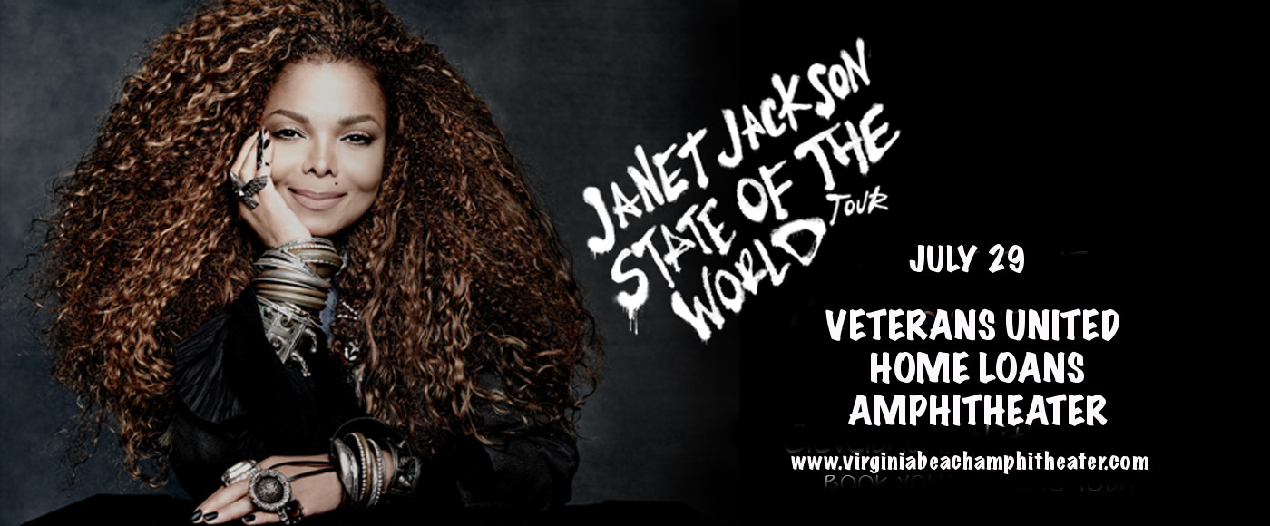 Janet Jackson at Veterans United Home Loans Amphitheater