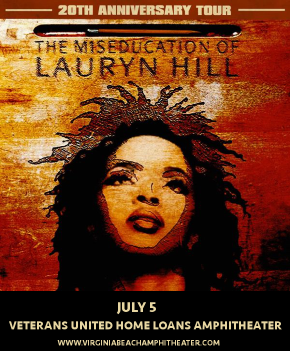 Lauryn Hill at Veterans United Home Loans Amphitheater
