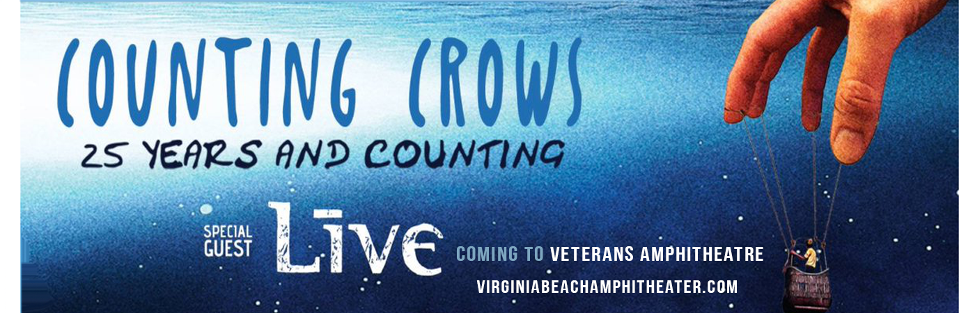 Counting Crows & Live - Band at Veterans United Home Loans Amphitheater
