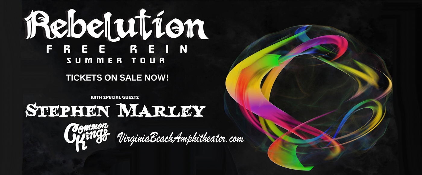 Rebelution, Stephen Marley & Common Kings at Veterans United Home Loans Amphitheater