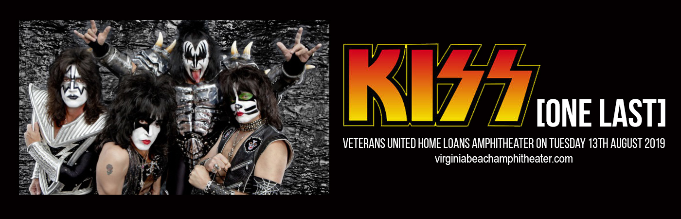 Kiss at Veterans United Home Loans Amphitheater