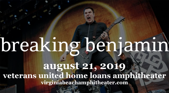 Breaking Benjamin at Veterans United Home Loans Amphitheater