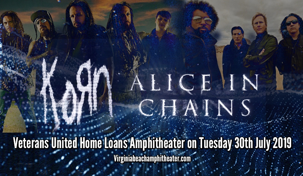 Korn & Alice In Chains at Veterans United Home Loans Amphitheater