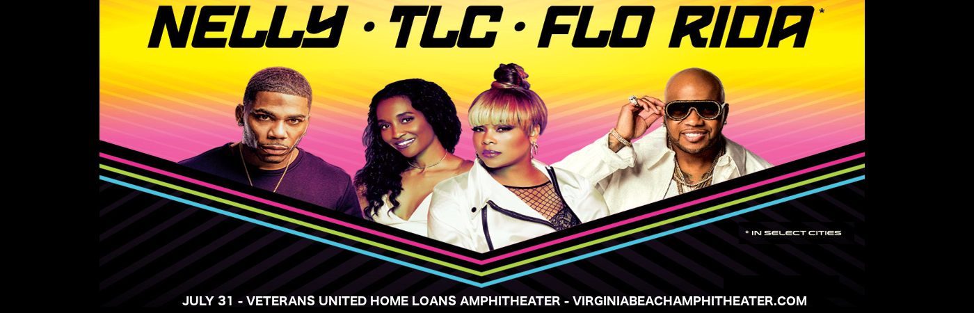 Nelly, TLC & Flo Rida at Veterans United Home Loans Amphitheater
