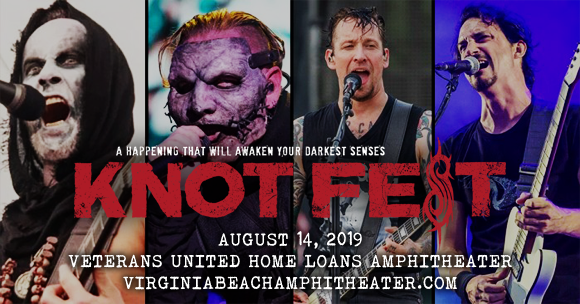 Slipknot, Volbeat, Gojira & Behemoth at Veterans United Home Loans Amphitheater
