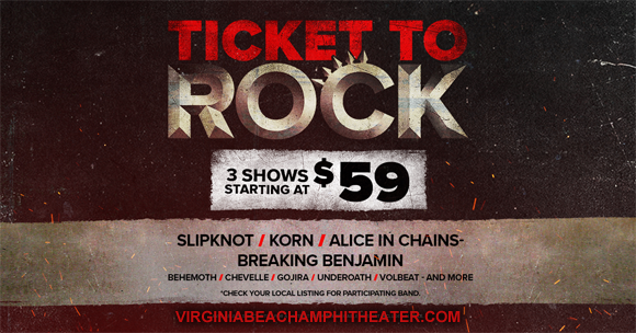 2019 Ticket To Rock Tickets (Includes All Performances) at Veterans United Home Loans Amphitheater