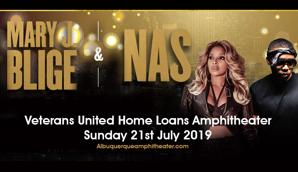 Mary J. Blige & Nas at Veterans United Home Loans Amphitheater