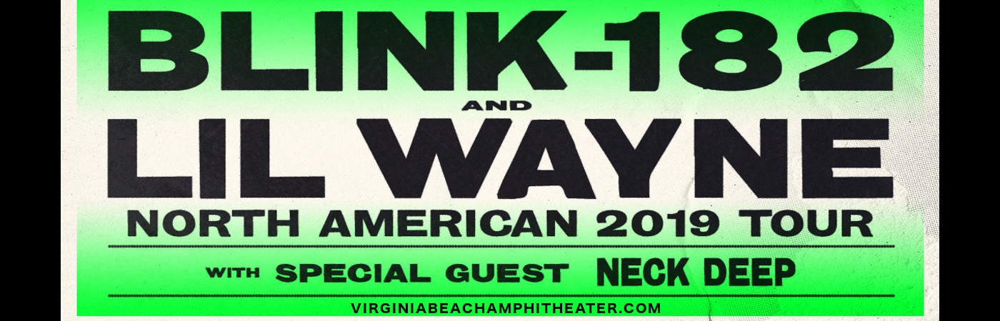 Blink 182 & Lil Wayne at Veterans United Home Loans Amphitheater