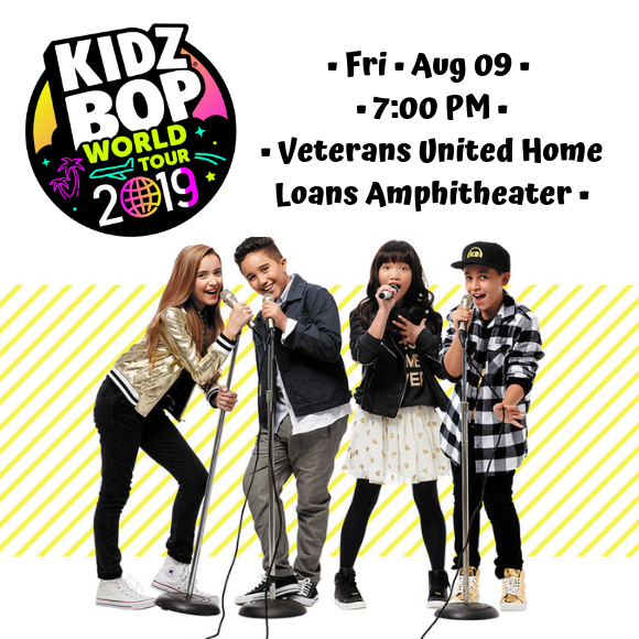 Kidz Bop Live at Veterans United Home Loans Amphitheater