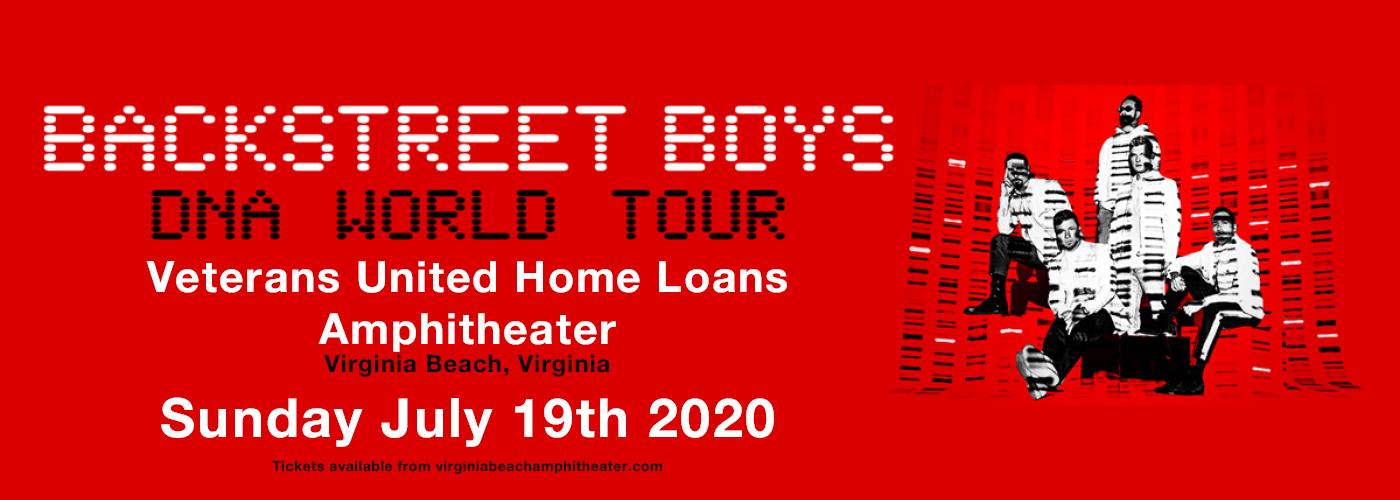Backstreet Boys at Veterans United Home Loans Amphitheater