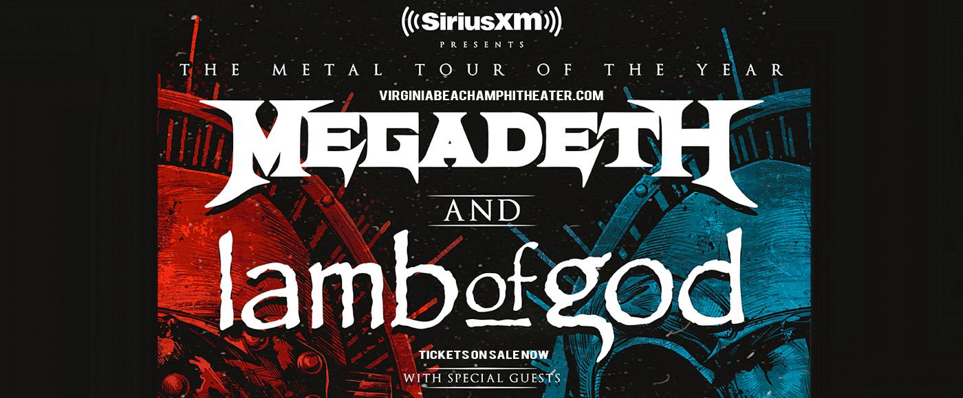 Megadeth & Lamb of God at Veterans United Home Loans Amphitheater