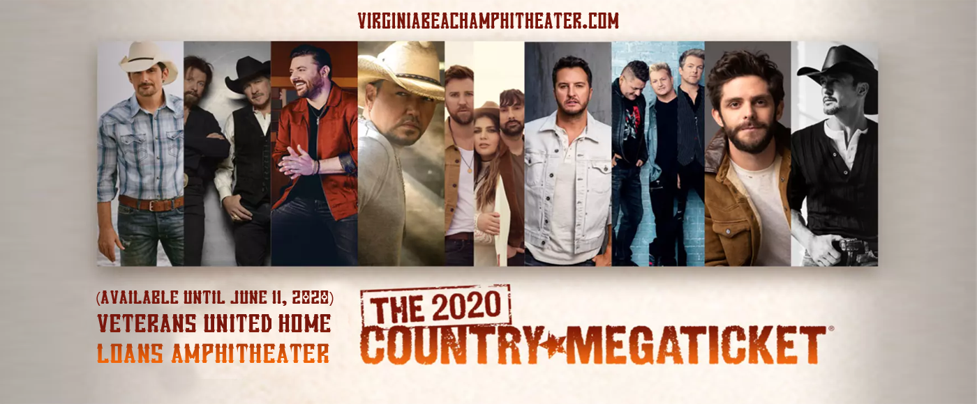 Country Megaticket (Includes Tickets To All Performances) at Veterans United Home Loans Amphitheater