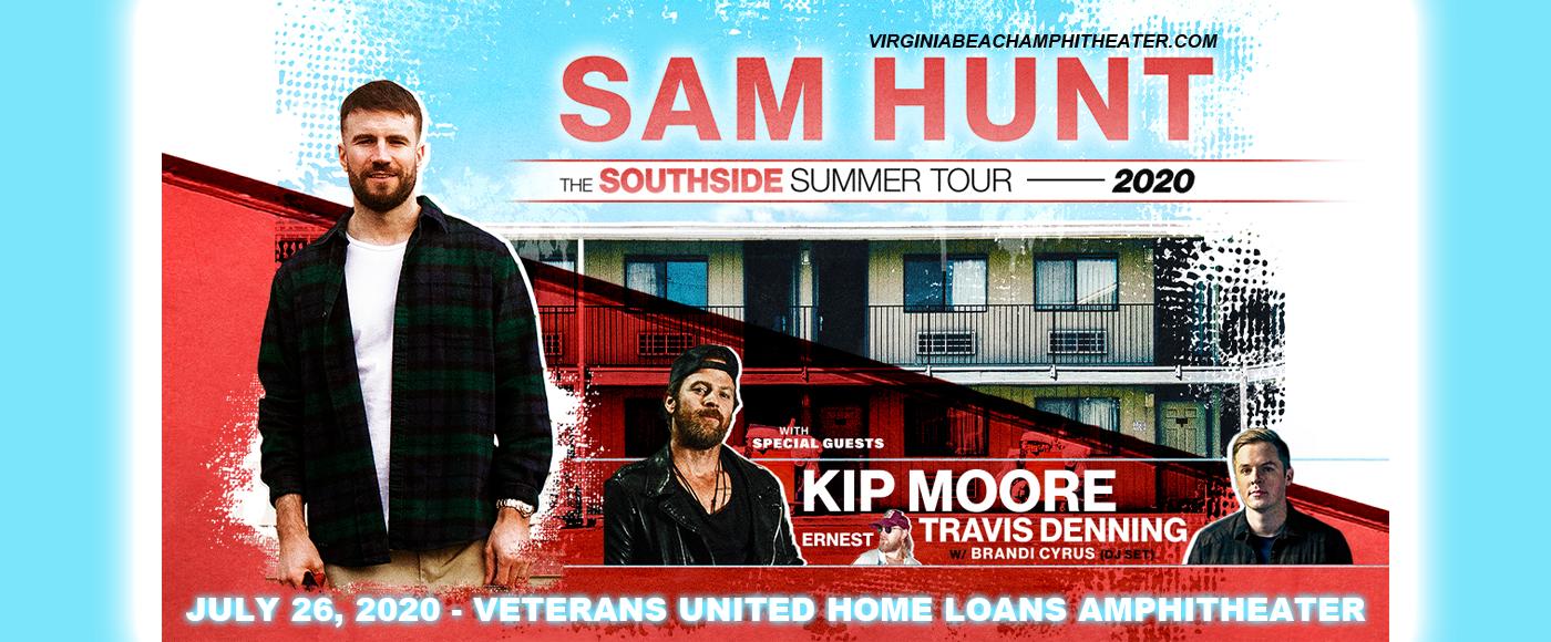 Sam Hunt, Kip Moore & Travis Denning at Veterans United Home Loans Amphitheater