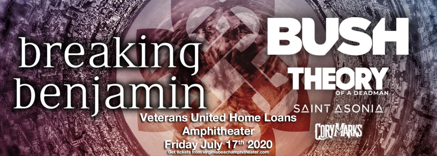 Breaking Benjamin & Bush at Veterans United Home Loans Amphitheater