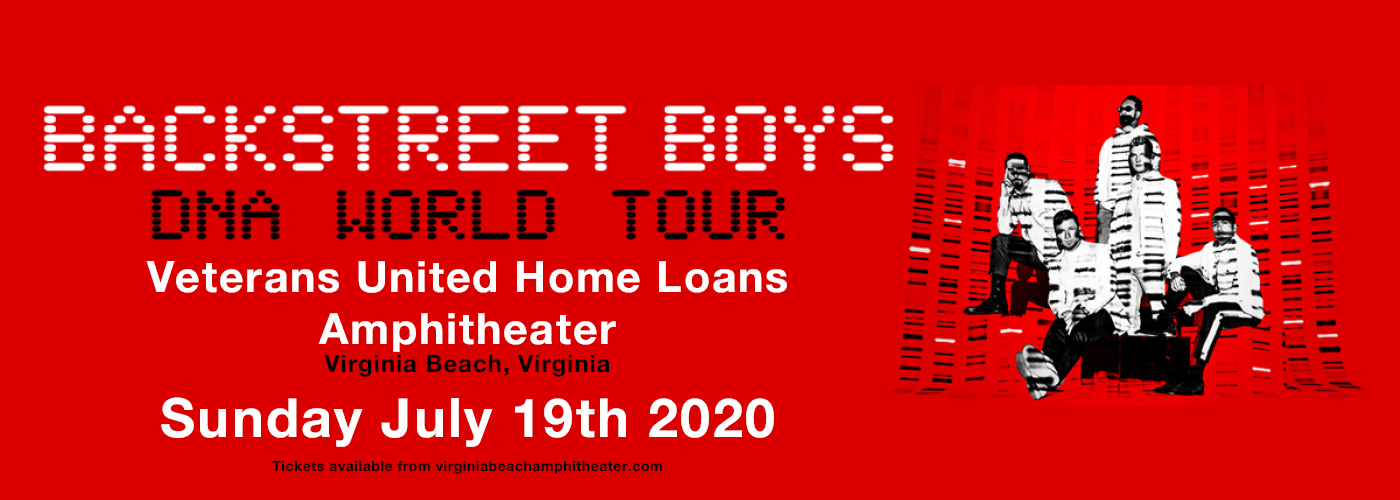 Backstreet Boys [POSTPONED] at Veterans United Home Loans Amphitheater