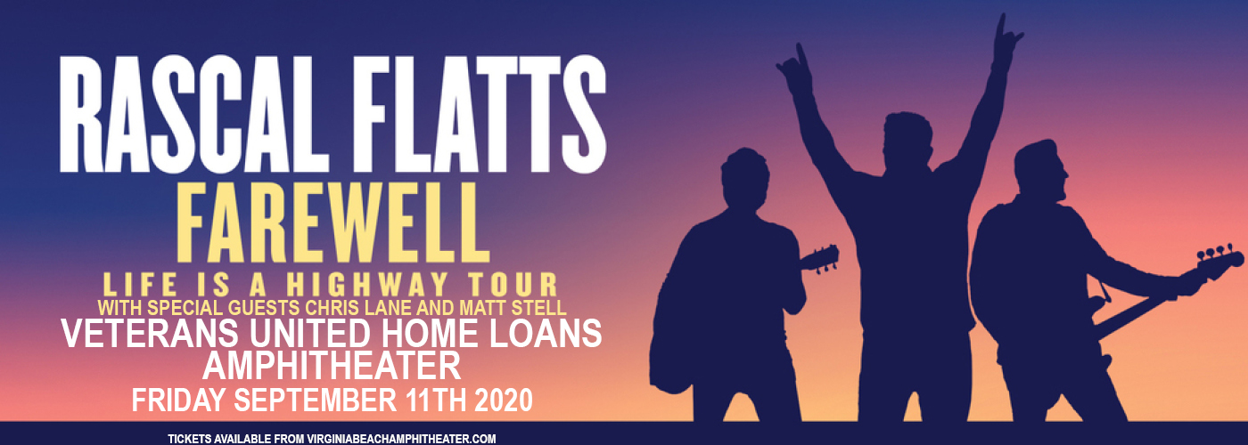 Rascal Flatts [CANCELLED] at Veterans United Home Loans Amphitheater