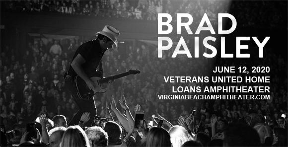 Brad Paisley, Jordan Davis & Gabby Barrett [CANCELLED] at Veterans United Home Loans Amphitheater