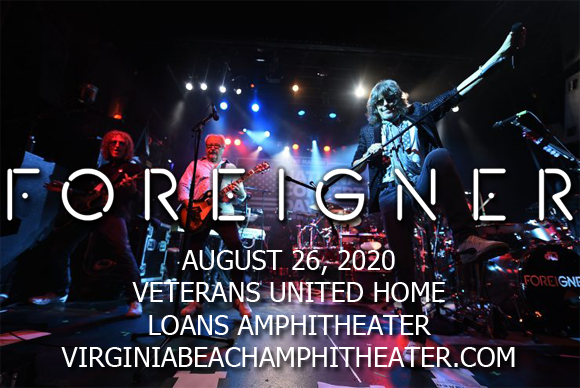 Foreigner, Kansas & Europe [CANCELLED] at Veterans United Home Loans Amphitheater
