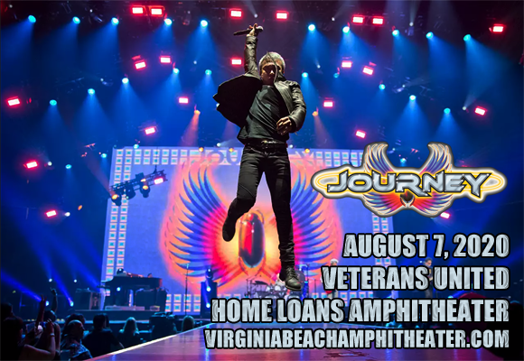 Journey & The Pretenders [CANCELLED] at Veterans United Home Loans Amphitheater