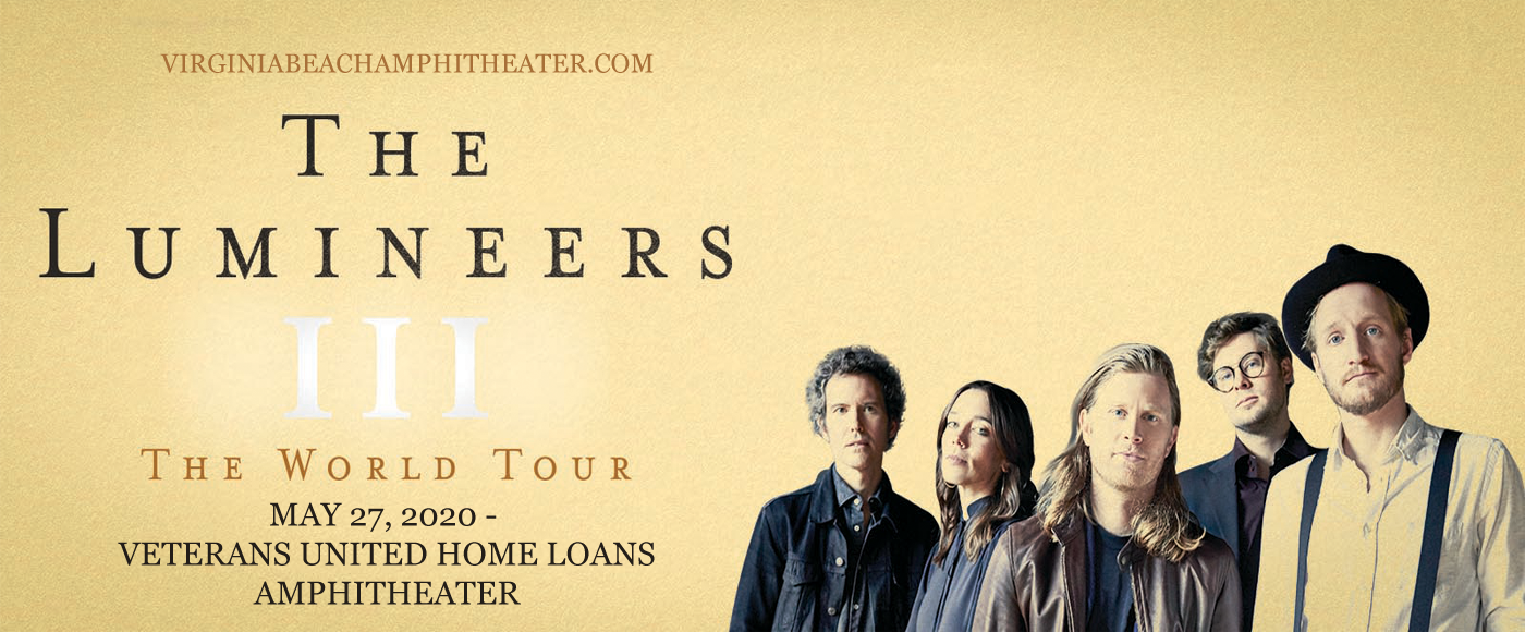 The Lumineers [CANCELLED] at Veterans United Home Loans Amphitheater