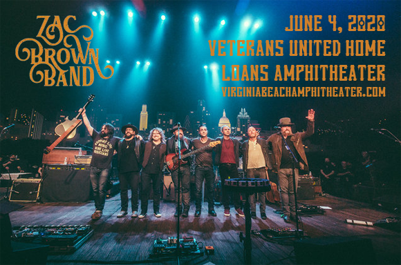 Zac Brown Band [CANCELLED] at Veterans United Home Loans Amphitheater
