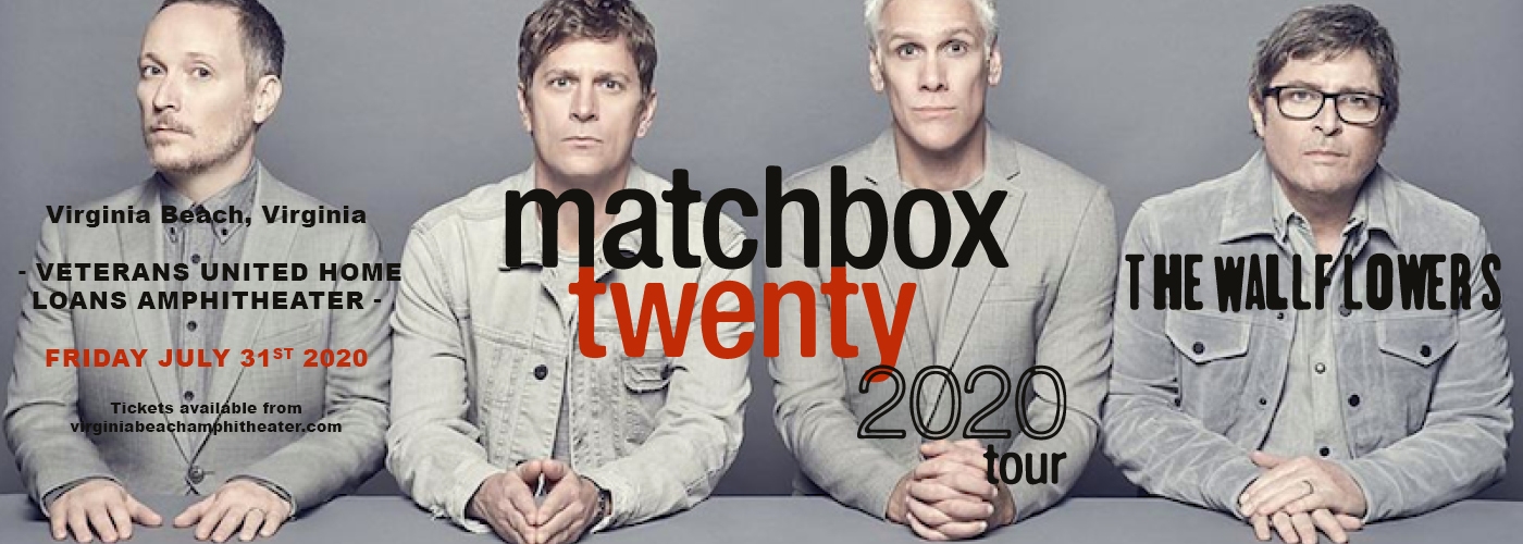 Matchbox Twenty & The Wallflowers at Veterans United Home Loans Amphitheater