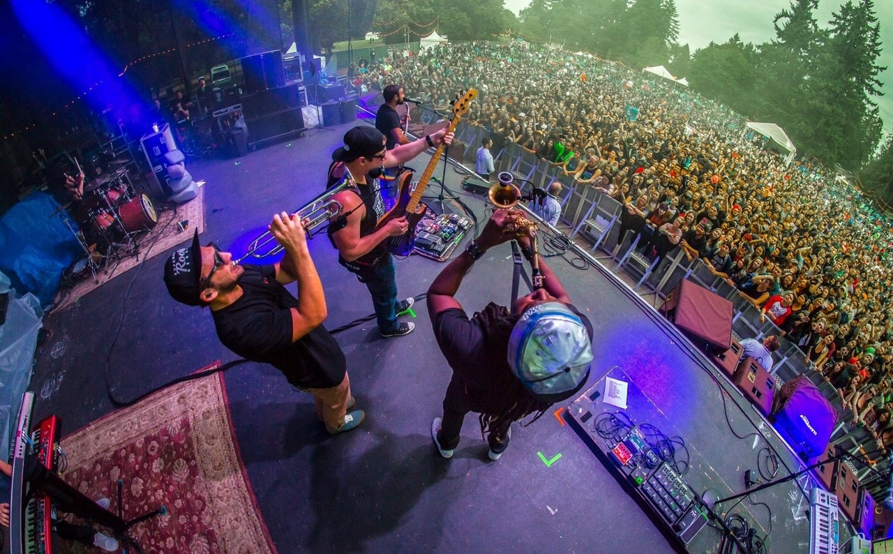 Rebelution, Steel Pulse & The Green at Veterans United Home Loans Amphitheater