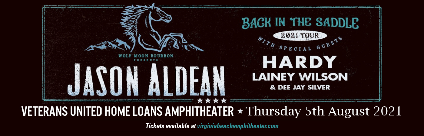 Jason Aldean, Hardy & Lainey Wilson at Veterans United Home Loans Amphitheater
