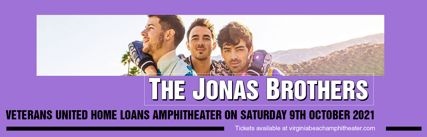 The Jonas Brothers at Veterans United Home Loans Amphitheater