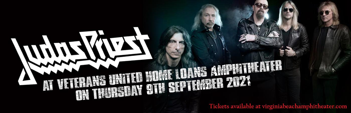 Judas Priest at Veterans United Home Loans Amphitheater