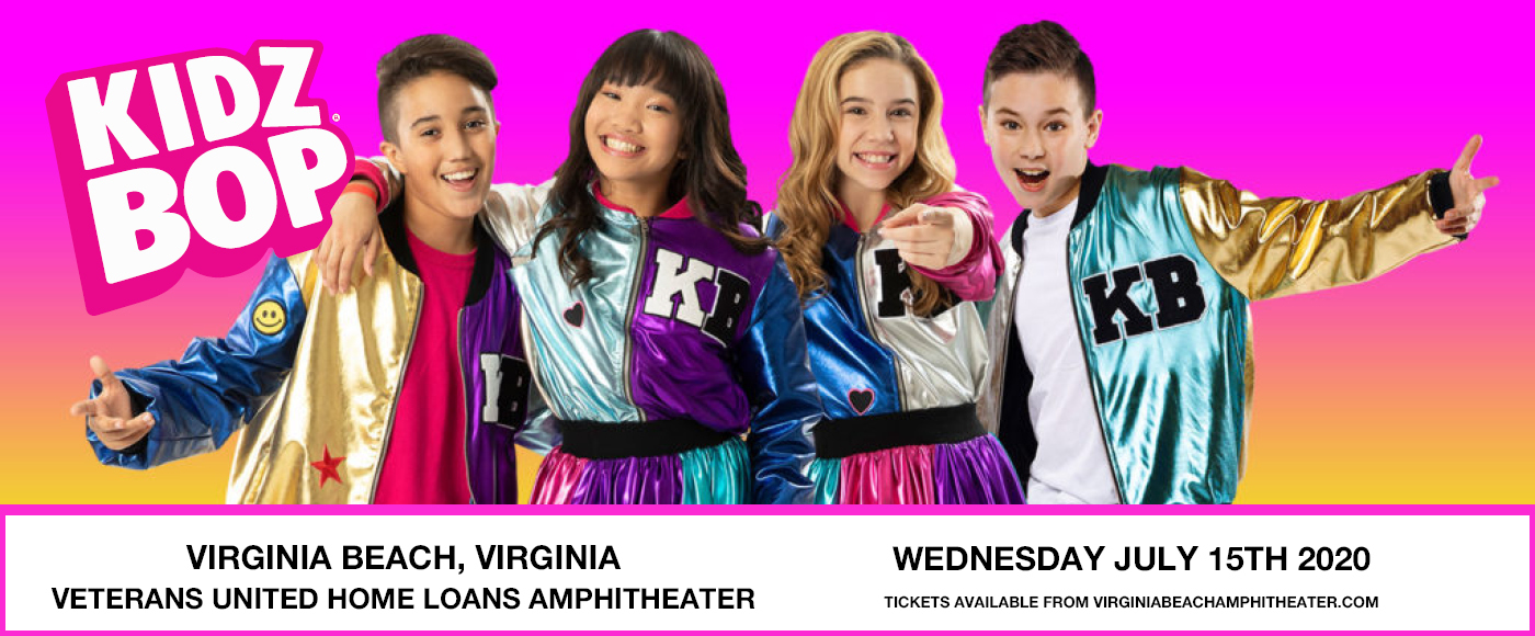 Kidz Bop Live [CANCELLED] at Veterans United Home Loans Amphitheater