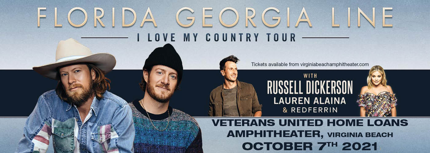 Florida Georgia Line: I Love My Country Tour at Veterans United Home Loans Amphitheater
